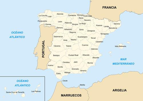 Mapa-Provincias-Espanha