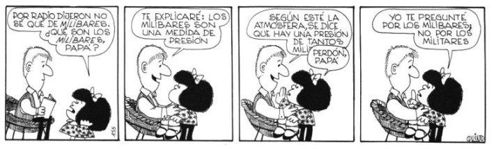 Resultado de imagem para según se dice mafalda