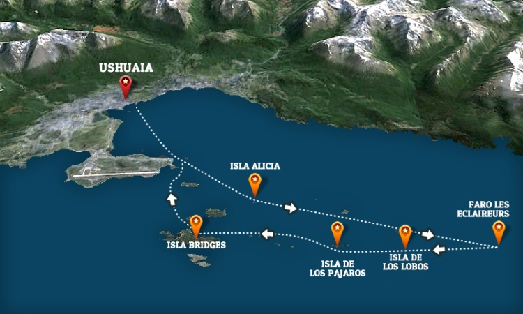 mapa-excursion-barco-ushuaia