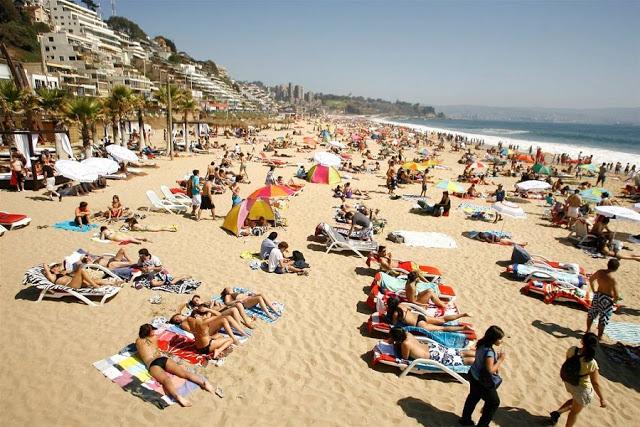 Visitar a Playa Reñaca em Viña del Mar