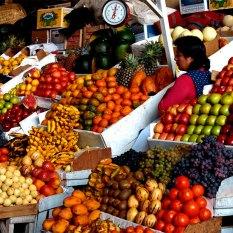 Mercado Central de San Pedro, Cusco. Fonte: Portal Machu Picchu