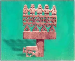 Resultado de imagem para la cultura chincha xilografia